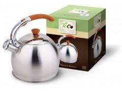 """Чайник со свистком  3,5 л. """"TECO""""  ТС-110"""
