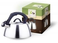 """Чайник со свистком  3 л. """"TECO""""  ТС-114"""